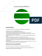 Manual de Usuario IRCM Spanish