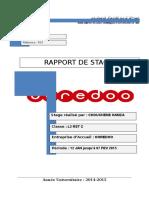 Rapport de Stage OOREDOO