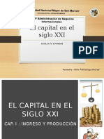 Resumen El capital en el Siglo XXI Pickety