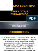Aprendizaje estrategico