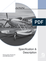 Cessna Caravan Amphibian Specificatios & Description
