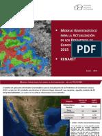 Modelo Geoestadístico2015