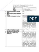 Análisis Jurisprudencial Sent C-182-10