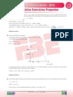 Enem Em Fasciculos Fasciculo 8 Matematica Farias Brito Resolucao Exercicios Propostos