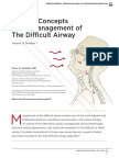 Current concepts in the management of the difficult airway