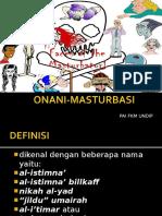 diskusi ONANI-MASTURBASI