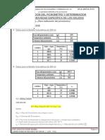 Calculos y Conclusion de Calibracion Del Picnometro y Determinacion de La Gravedad Especifica de Suelos Solidos