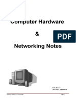 Hardware Networking Notes