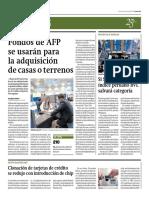 FONDOS AFP SE RETIRARAN PARA INICIAL DE PRIMERA VIVIENDA (PERU)