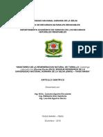 MONITOREO DE LA REGTENERACION NATURAL DE TORNILLO EN LA UNAS - TINGO MARIA.doc