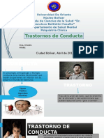 Diapositivas Transtorno de Conducta