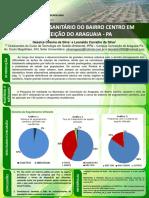 Poster Congresso - DIAGNÓSTICO SANITARIO DO BAIRRO CENTRO EM CONCEIÇÃO DO ARAGUAIA - PA