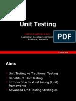 Apps Unit Testing