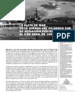 122424473 Coli CA Ene 2007 La Flota de Mar en La Guerra Del Atlantico Sur Su Actuacion Posterior Al 2 de Abril de 1982 Boletin Del Centro Naval No 816