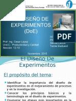 Expo Diseño de Experimentos