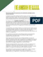 El Proceso de Admisión de Personas en La Planeación Estratégica de Los Recursos Humanos