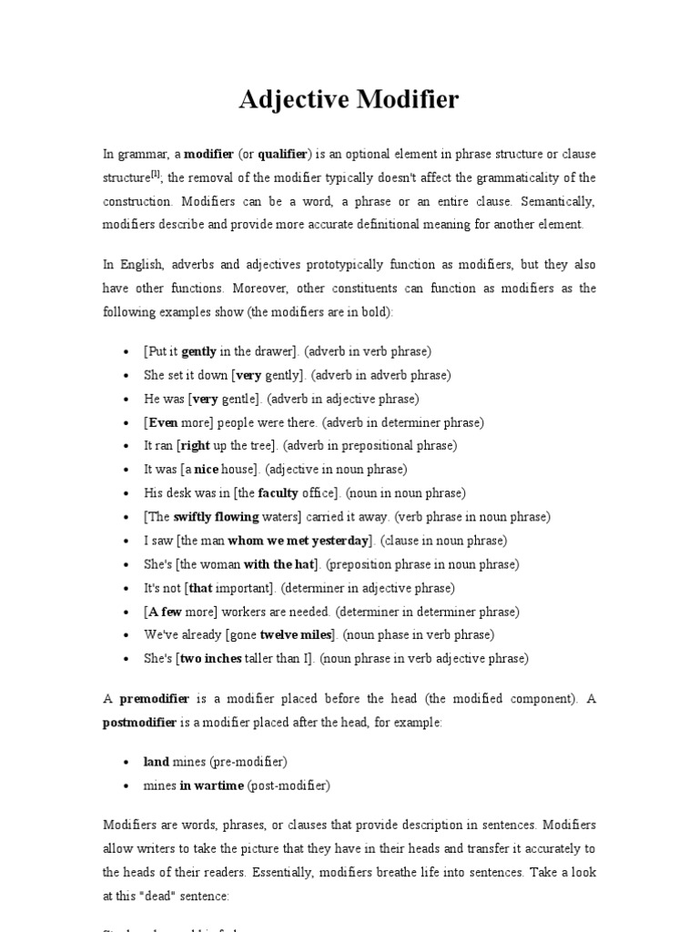 1492618520 learning, math worksheets, worksheets for teachers, and worksheets Adjectival Phrases Worksheet 1024 x 768