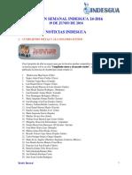 Boletin Semanal Indesgua 24-2016 - Convocatorias Abiertas Al 11 de Junio 2016 (1)