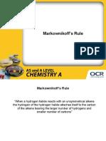 250388 Markownikoff s Rule Presentation