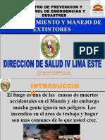 USO Y MANEJO DE XTINTORES.pps