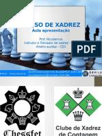 Curso de Xadrez 2016