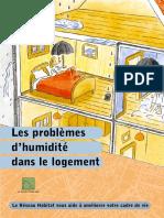 GUIDE - Les Problèmes d'Humidité Dans Le Logement