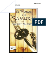 El Honor Del Samurai  Takashi Matsuoka
