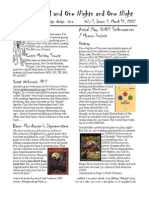 Issue #2, One Thousand and One Nights and One Night RPG Campaign Design 'zine