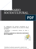 Escenarios Sociocultural y Natural