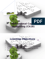 International Capital Budgeting