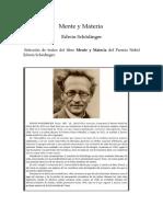 Schödinger, Edwin - Mente y Materia (selección).docx