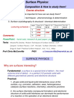 Cfm Surface Lectures 2012 Notes 1-9 Final