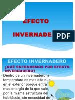 Efecto Invernadero Ecologia Avance