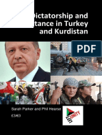 Dictatorship and Resistance in Turkey and Kurdistans Pamphlet