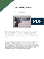 Weihrauch HW45 Air Pistol