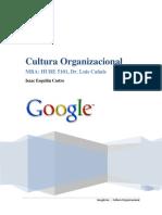 Google Inc. Cultura Organizacional