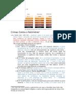 Anotações Direito Penal IV