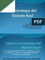 Estrategia Del Oceano Azul (19 Diapositivas)