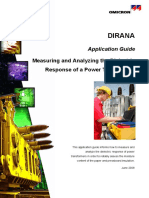 DIRANA Application Guide - Measuring and Analyzing Power Transformers