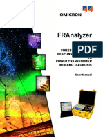 FRAnalyzer User Manual