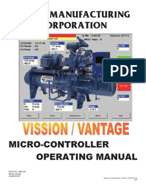 Manual Vilter Vission Vantage   Electrical Connector   Power ... on