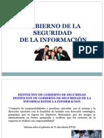 Gobierno de La Seguridad de La Información
