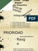 Informe de Comisión-normalidad Minima