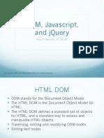 Desain Web 04 DOM Javascript and JQuery