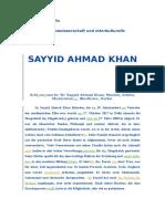 Sayyid Ahmad Khan Deutsch