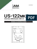 Tascam InterfaceUS122mk2 Es