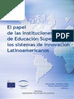 El Papel de Las Instituciones de Educación Superior en Los SRI de AL(1)