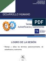 Semana 02o - Autonomia y Autoeficacia - 2016 - 01