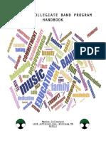 maples band handbook