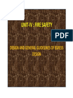 DESIGN AND GENERAL GUIDELINES OF FIRE SAFTY IN BUILDINGS